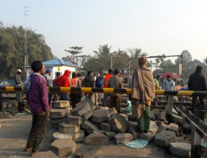 18 hours Road block at Aambari now open