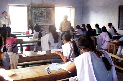Three ailing students sit for exams from health center