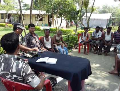 SSB Organizes Meeting In Dangujote Camp