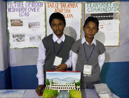 Siliguri's School Students Construct Model For Road Accidents Prevention