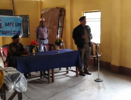 NJP Traffic Guard Holds Awareness Session In Siliguri's School