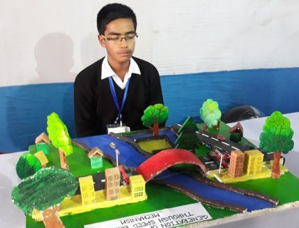 Siliguri's Class X Student Unveils His Model At Vigyaan Mela