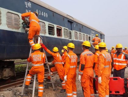 Mock Drill Held In Siliguri's NJP Station
