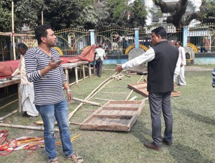 Trinamool Leader Lashes Out Over Holes Dug In Siliguri's Baghajatin Park