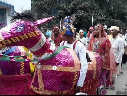 Colourful Procession In Siliguri For Mother Language Day
