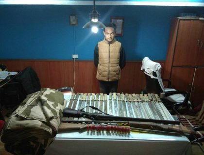 More Firearms Seized From The Hills