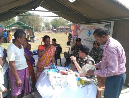 SSB Conducts Health Check-Up Camp In Kharibari