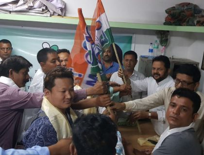 GJM Supporters Switch To TMC In Jaigaon