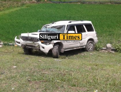 Vehicle Overturns In Alipurduar, Two Injured